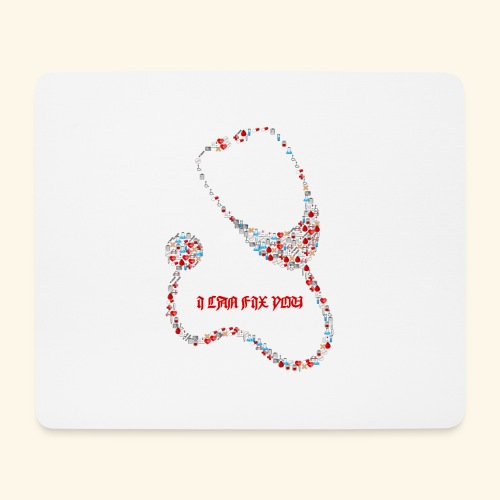 i will fix you stethoscope - Mouse Pad (horizontal)
