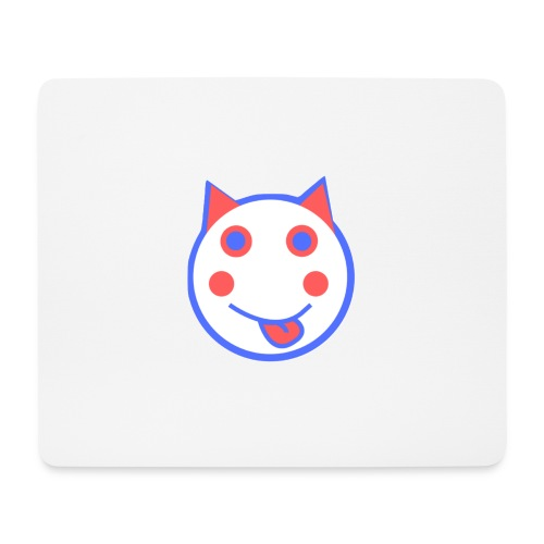 Red White And Blue - Alf Da Cat - Mouse Pad (horizontal)