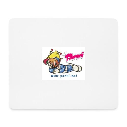 panki sticker neu - Mousepad (Querformat)