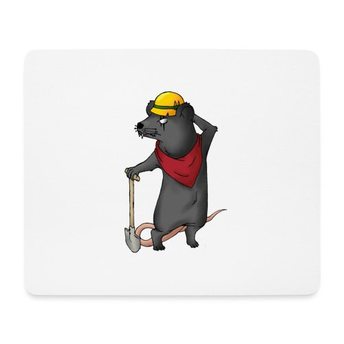 Arbeiter Ratte - Mousepad (Querformat)