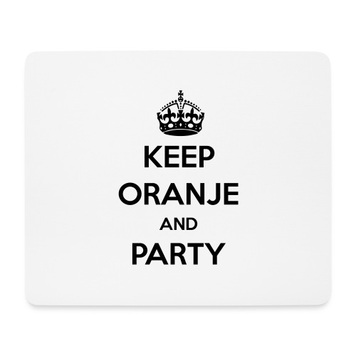 KEEP ORANJE AND PARTY - Muismatje (landscape)