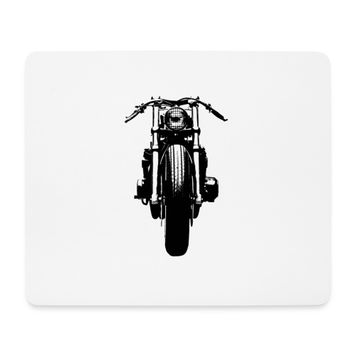 Motorcycle Front - Mouse Pad (horizontal)