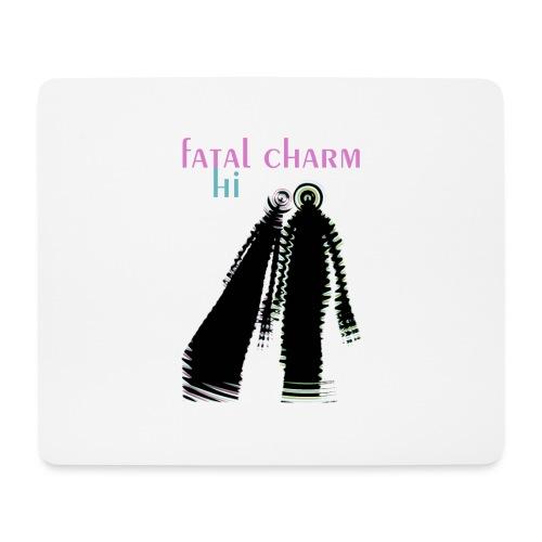 fatal charm - hi album cover art - Mouse Pad (horizontal)