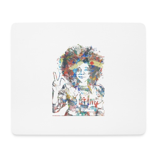 Live and let live, Geschenkidee - Mousepad (Querformat)
