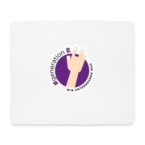 #generationE - wir unternehmen was - Mousepad (Querformat)