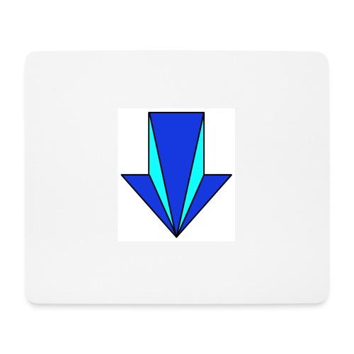 flecha - Alfombrilla de ratón (horizontal)