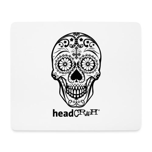 Skull & Logo black - Mousepad (Querformat)