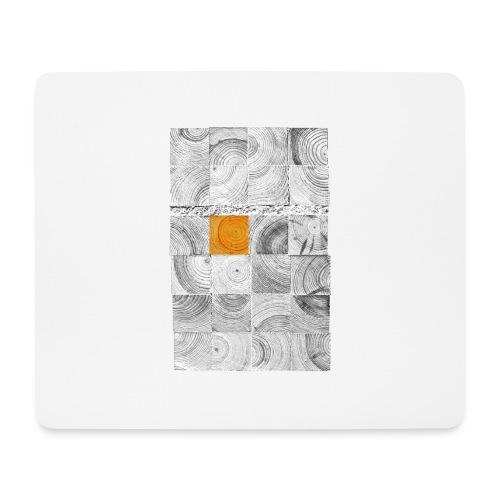 Cubes de Bois - Tapis de souris (format paysage)