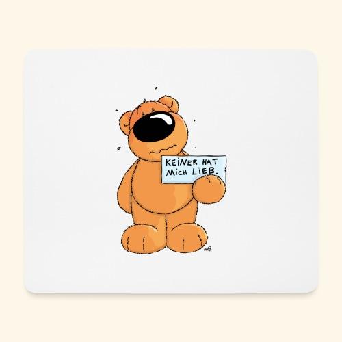 chris bears Keiner hat mich lieb - Mousepad (Querformat)