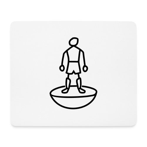 Table Football Stick Man - Mouse Pad (horizontal)