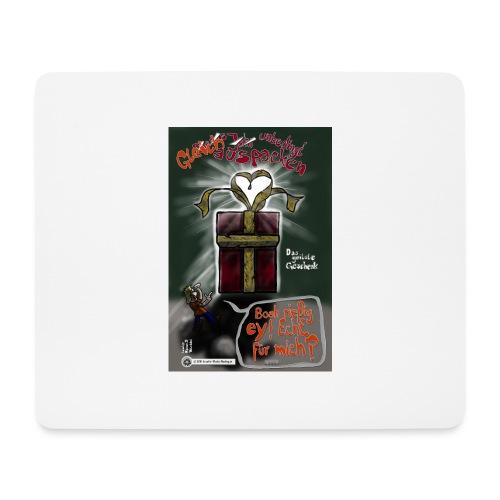 Design Das geilste Geschenk gleich auspacken - Mousepad (Querformat)