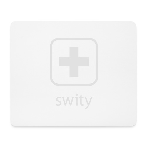 Schweizerkreuz-Kappe (swity) - Mousepad (Querformat)