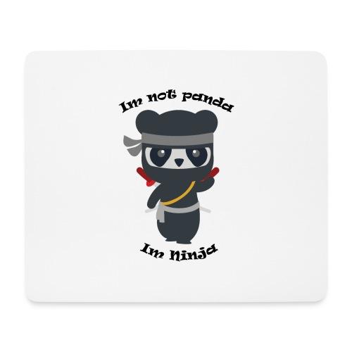 Non sono un Panda - Tappetino per mouse (orizzontale)