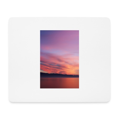 Sundown at Lake of Constance - Mousepad (Querformat)