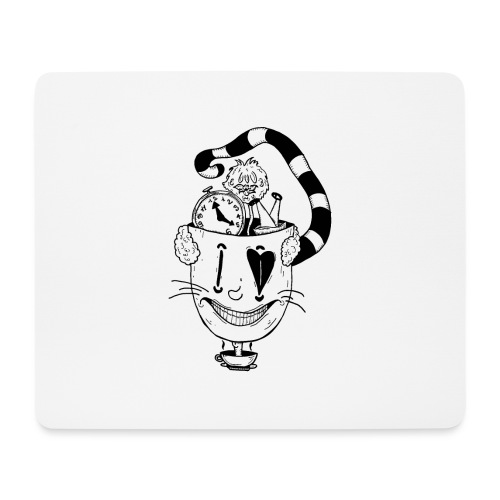 alice in wonderland - Tappetino per mouse (orizzontale)