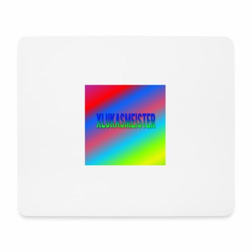 Lukas Minecraft Navn - Mousepad (bredformat)