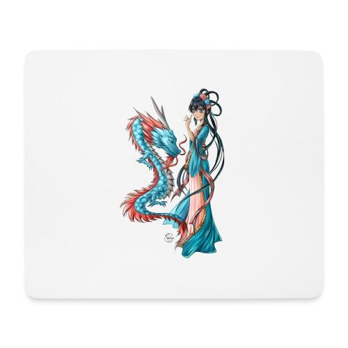 Blue Dragon - Tapis de souris (format paysage)