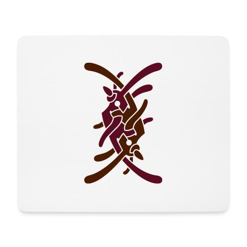 Lille logo på bryst - Mousepad (bredformat)