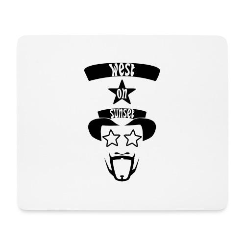 westonsunset_head - Mouse Pad (horizontal)