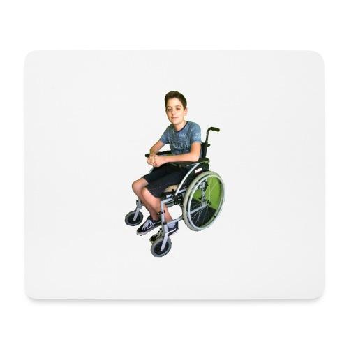 Michael Brown Rollstuhl (Version ein) - Mousepad (Querformat)