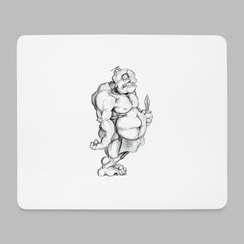 Big man - Mousepad (Querformat)