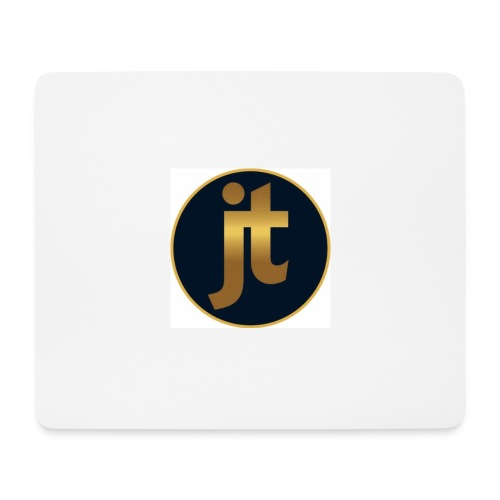 Golden jt logo - Mouse Pad (horizontal)