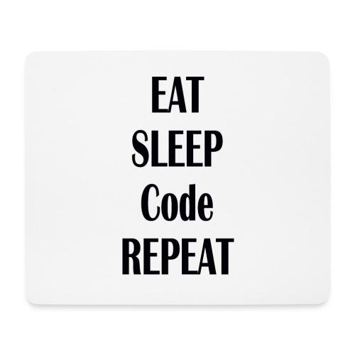 EAT SLEEP CODE REPEAT - Mousepad (Querformat)