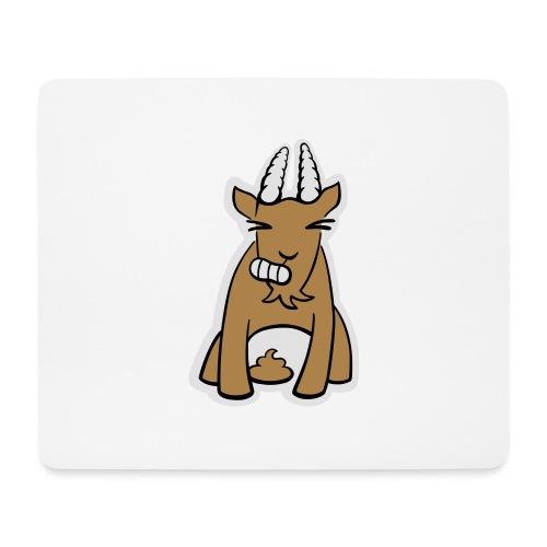 Scheissbock - Mousepad (Querformat)