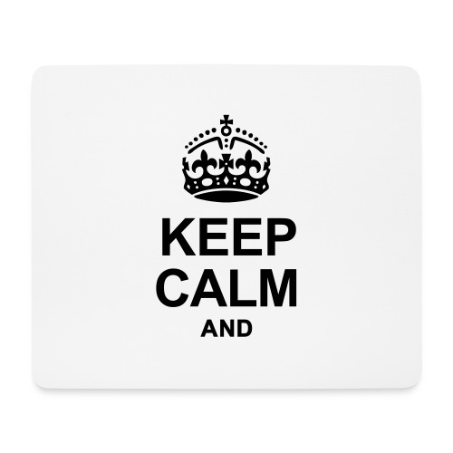 KEEP CALM - Mouse Pad (horizontal)
