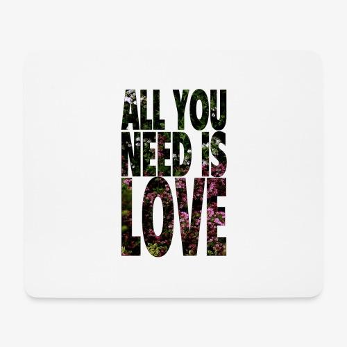 All You need is love - Podkładka pod myszkę (orientacja pozioma)