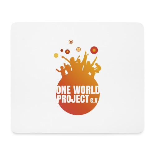 One World Project e. V. - Logo - Mousepad (Querformat)