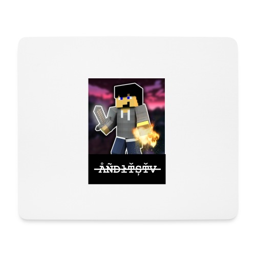 ÅÑĐłŤȘŤV png - Mousepad (Querformat)