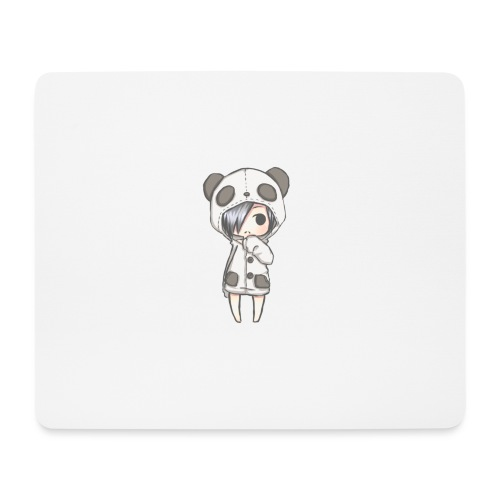 Cute girl panda - Mouse Pad (horizontal)