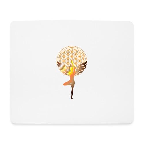fleur de vie yoga 2 - Tapis de souris (format paysage)