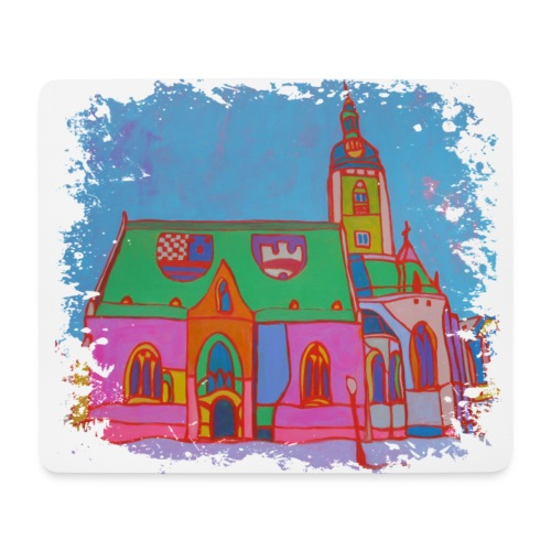 Zagreb - Mousepad (Querformat)