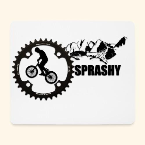 Sprashy logo 2.0 - Mousepad (Querformat)