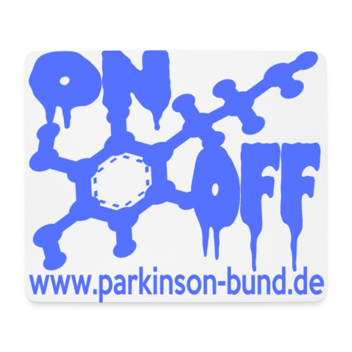 On_Off - Mousepad (Querformat)