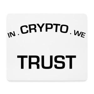 In Crypto we trust - Muismatje (landscape)