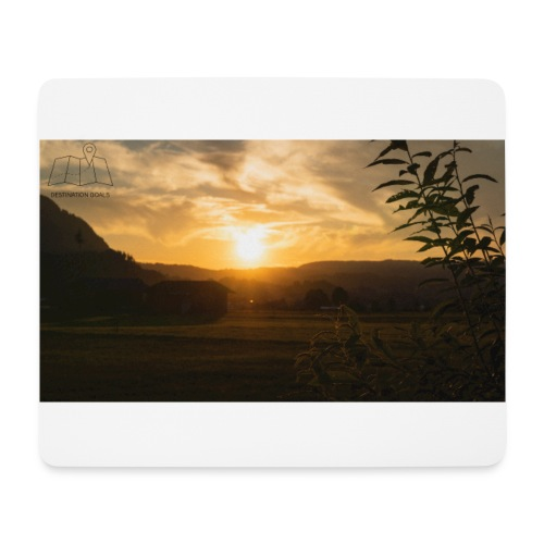 Sunset - Mousepad (Querformat)