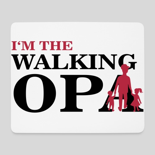 The Walking Opa 1 - Mousepad (Querformat)
