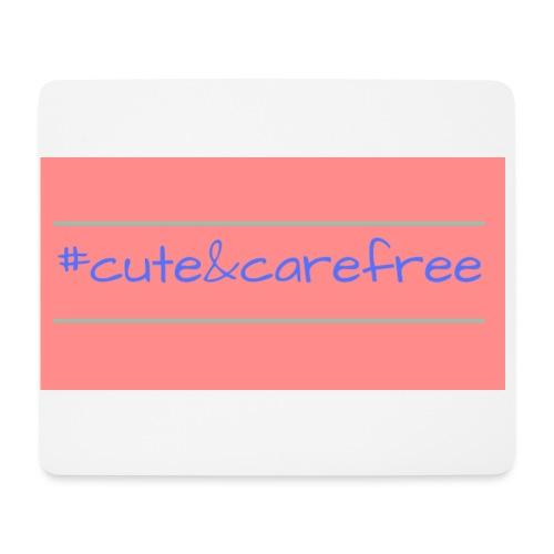 Cute & Carefree - Mouse Pad (horizontal)