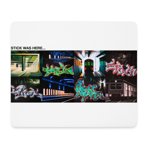 Stick was here 0.1 - Mousepad (bredformat)