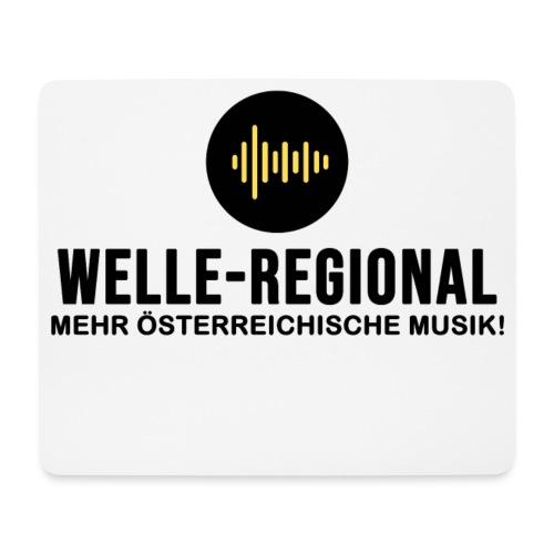Das Logo von Welle-Regional! - Mousepad (Querformat)