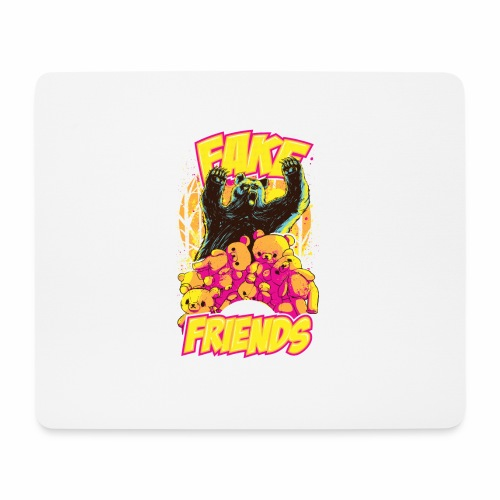 Fake Friends - Mousepad (Querformat)