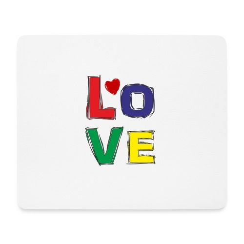 LOVE - Mousepad (Querformat)