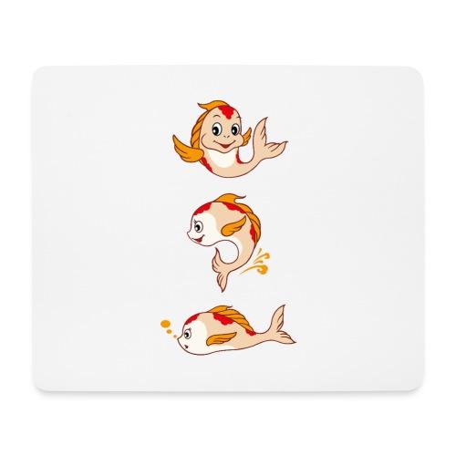 Fish Cartoon - Mousepad (Querformat)