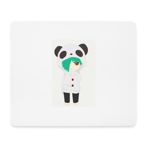 Blue haired SkaiLaPie - Mouse Pad (horizontal)