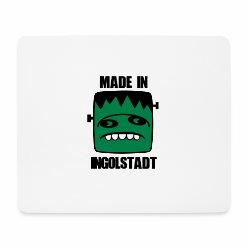 Fonster made in Ingolstadt - Mousepad (Querformat)