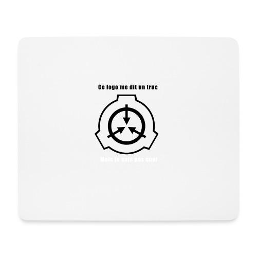 Mug SCP Ce Logo me dit un truc - Tapis de souris (format paysage)