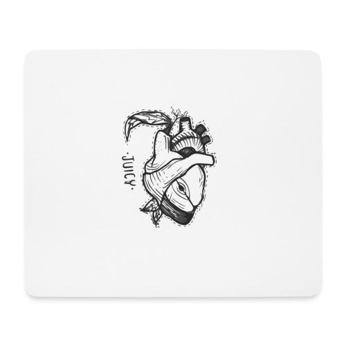 Apple Heart B - Alfombrilla de ratón (horizontal)